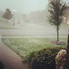 Hail In North Dallas