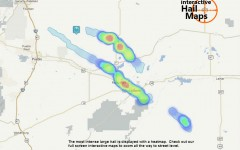 Hail Storm Map Rocky Ford and La Junta Colorado September 27, 2012
