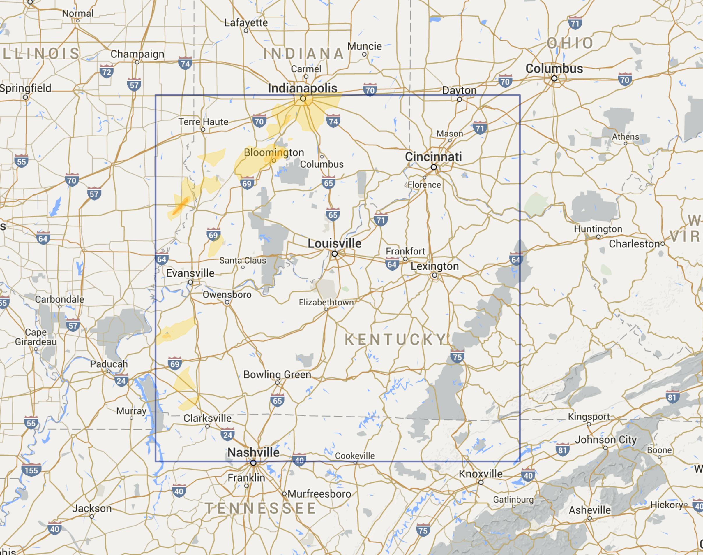 Louisville KY Region