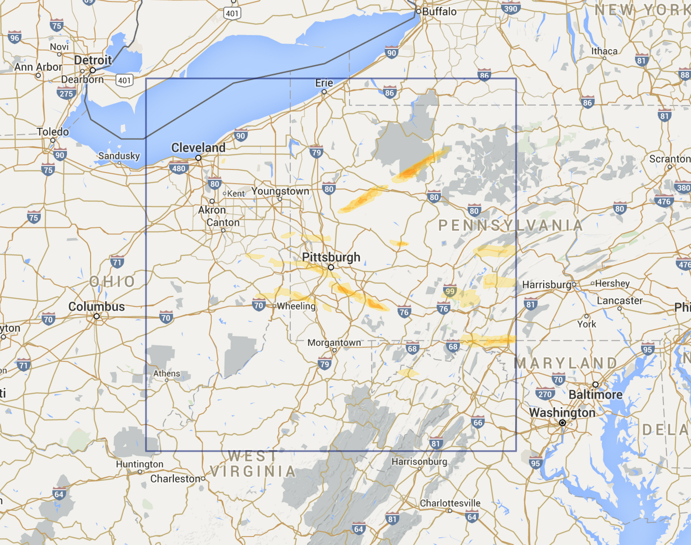 Pittsburgh PA Region