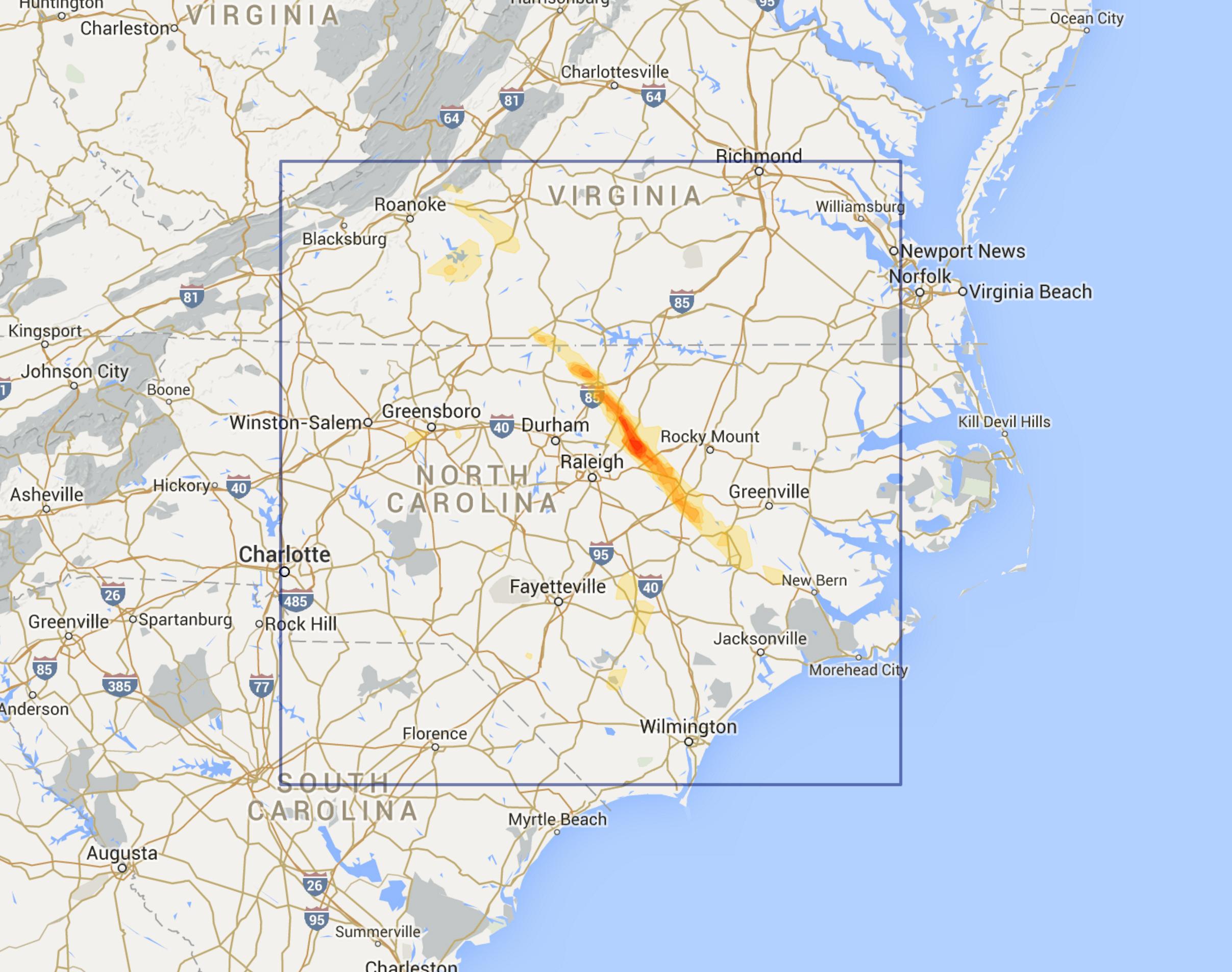Raleigh NC Region