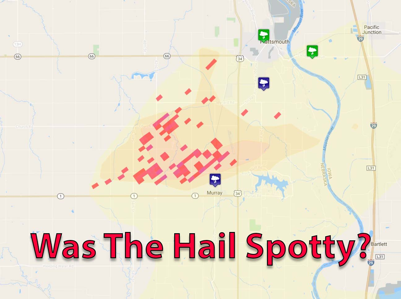 Interactive Hail Maps Facebook Ad Page - Us weather map live